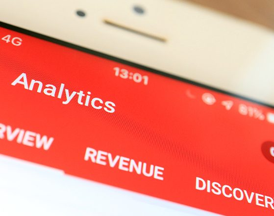 Youtube Analytics Mobil Anasayfası