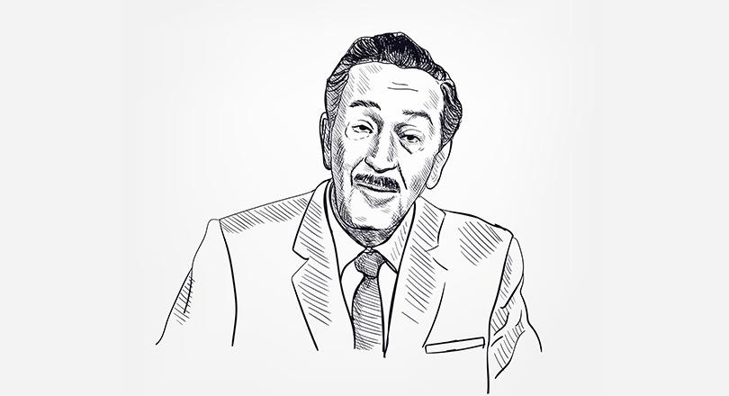 Walt disnet kara kalem resmi